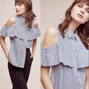 Sunday in Brooklyn Scilla Cold Shoulder Blouse